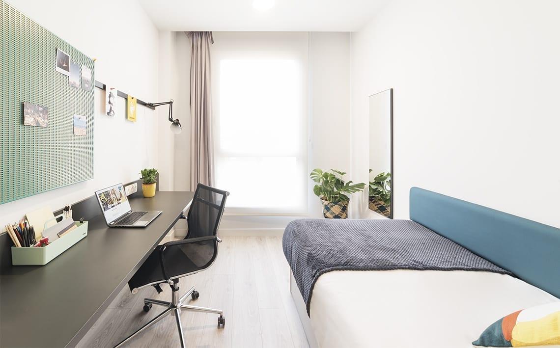 Mobiliario para residencias de estudiantes