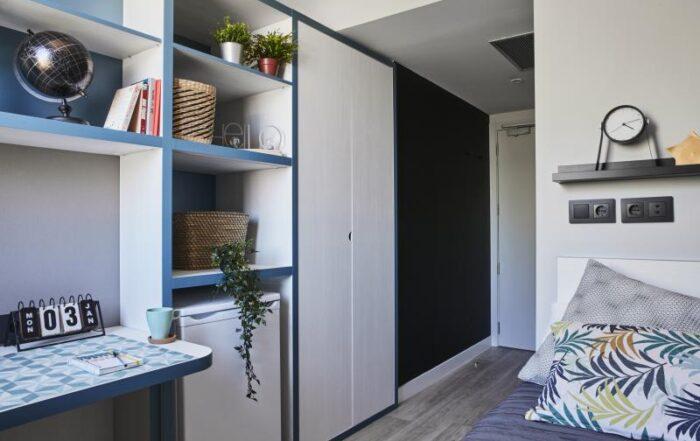 Muebles para residencias de estudiantes